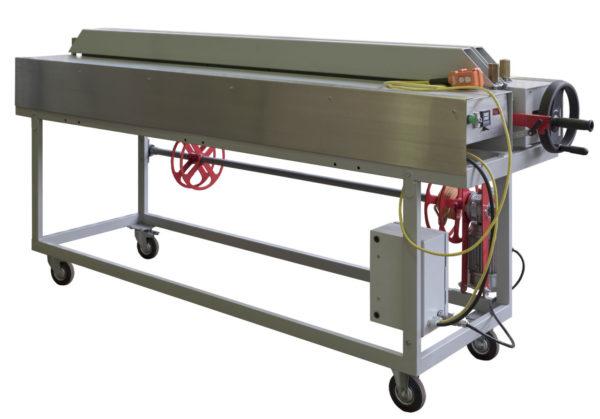 Сварочный станок для полифузилнной сварки листов из полипропилена, полиэтилена и ПВХ