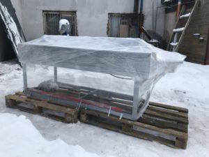 Сварочный стол ССПЛ для листов полипропилена
