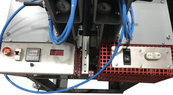 Станок для стыковой сварки пластиковых листов ССПЛ, панель управления