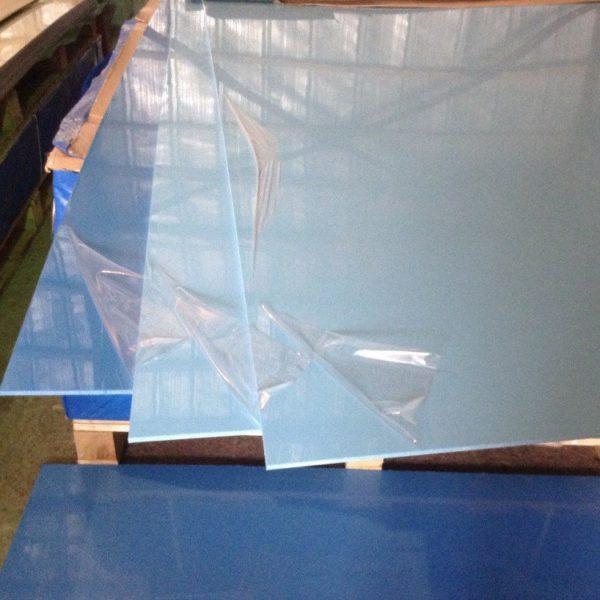 Полипропилен голубой синий листовой